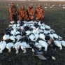 Southeast Missouri snow goose hunting