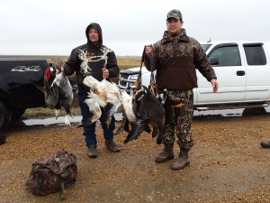 Guided Fall Snow Goose Hunting